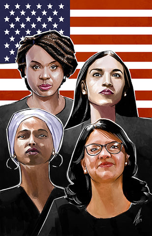 Alexandria Ocasio-Cortez and the Freshman Force: Squad Special - Virgin Cover