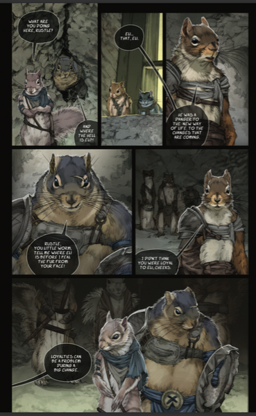 Squarriors: Spring Volume 1 Digital