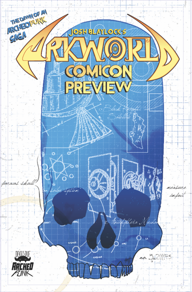 ArkWorld Comicon Preview Edition