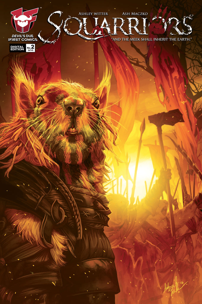 Squarriors Volume 2 Summer #2 Digital