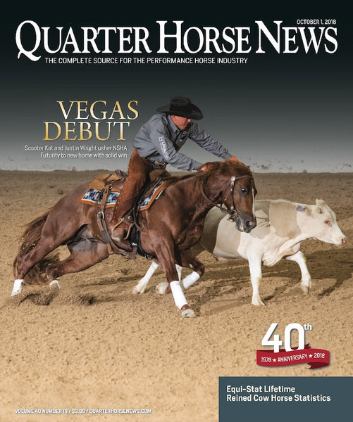 October 1st Issue of Quarter Horse News Magazine