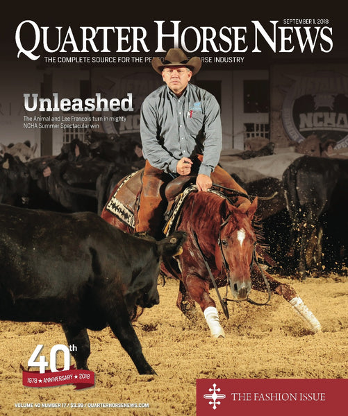 September 1st Issue of Quarter Horse News Magazine