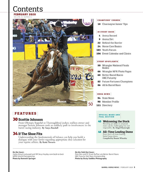 February 2020 Barrel Horse News Magazine
