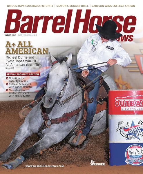 August 2019 Barrel Horse News Magazine