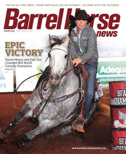 January 2020 Barrel Horse News Magazine