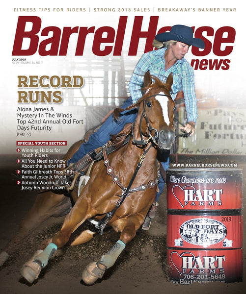 July 2019 Barrel Horse News Magazine