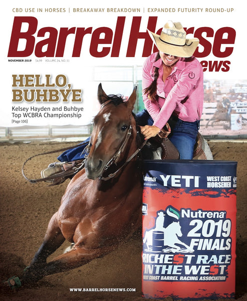 November 2019 Barrel Horse News Magazine