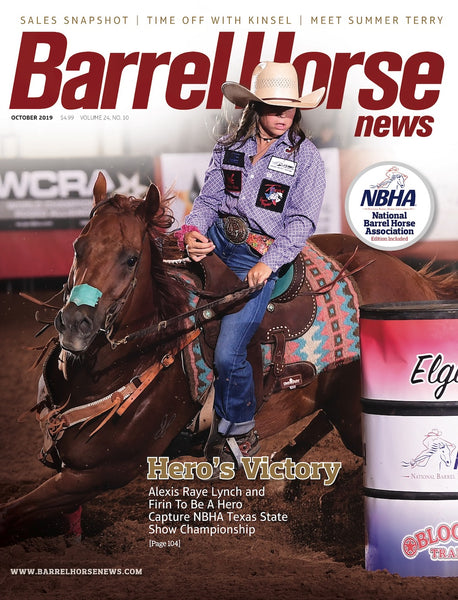 October 2019 Barrel Horse News Magazine