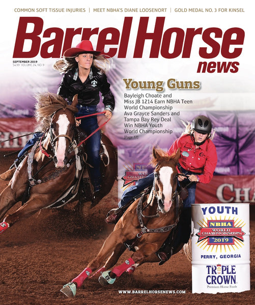 September 2019 Barrel Horse News Magazine