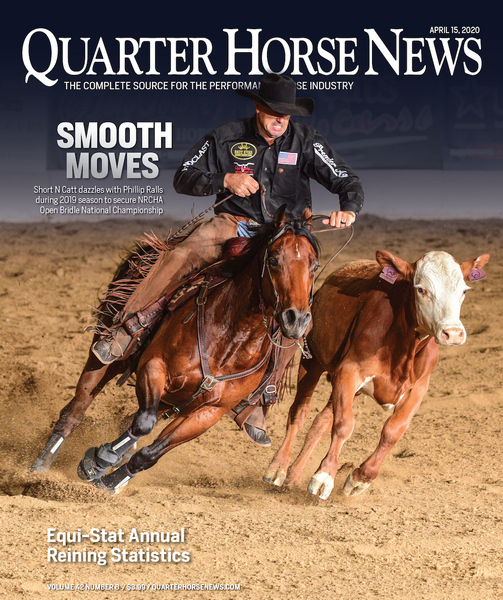 April 15, 2020, Issue of Quarter Horse News Magazine