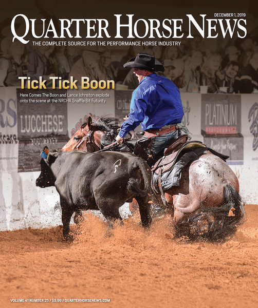 December 1, 2019, Issue of Quarter Horse News Magazine