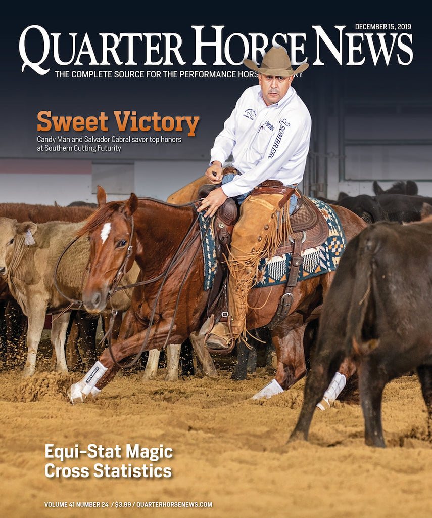 December 15, 2019, Issue of Quarter Horse News Magazine