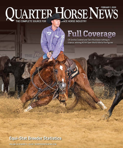 February 1, 2020, Issue of Quarter Horse News Magazine