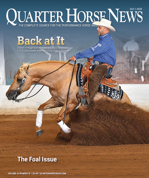 July 1, 2020, Issue of Quarter Horse News Magazine