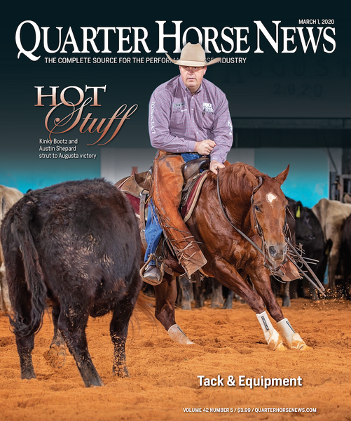 March 1, 2020, Issue of Quarter Horse News Magazine