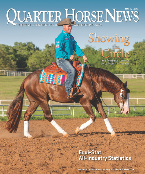 May 15, 2020, Issue of Quarter Horse News Magazine