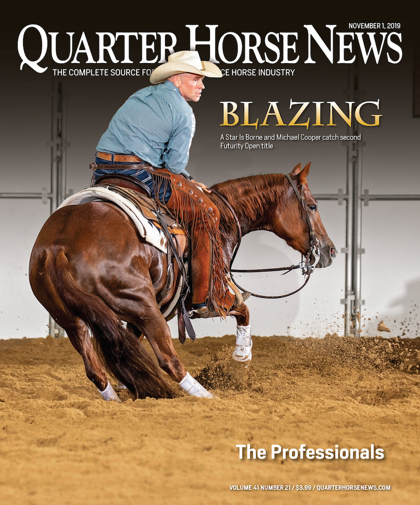 November 1, 2019, Issue of Quarter Horse News Magazine