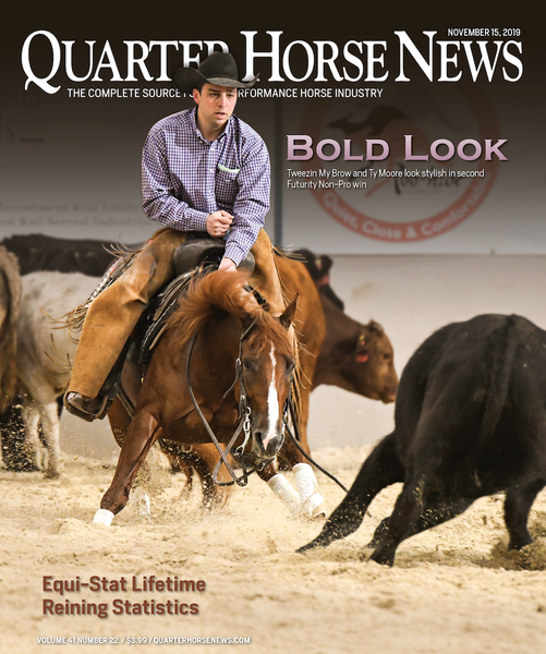 November 15, 2019, Issue of Quarter Horse News Magazine