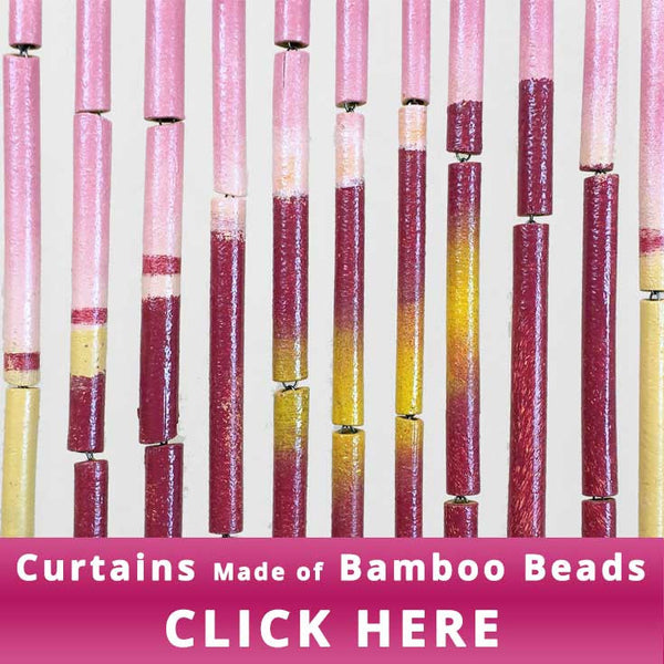 Bamboo Beaded Curtain