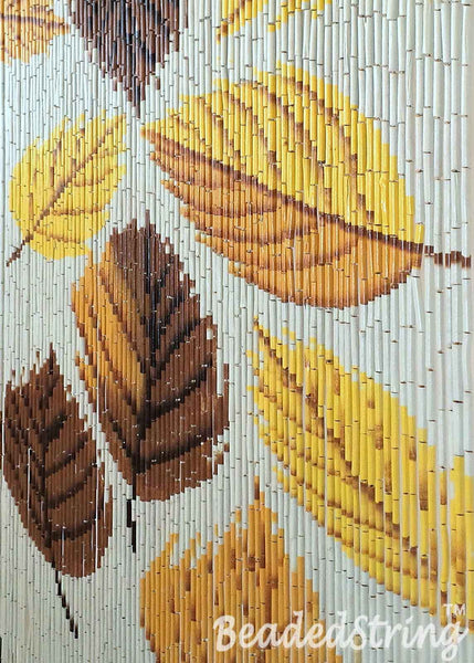 beaded curtain-bamboo-Autumn4