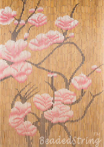 beaded curtain-Bamboo-Blossom-3