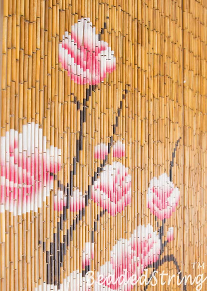 beaded curtain-Bamboo-Blossom-4