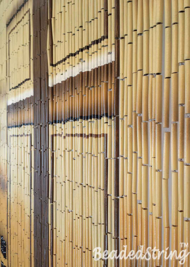 Beaded Curtain Door Curtain Bamboo Door 90 Strands Beadedstring
