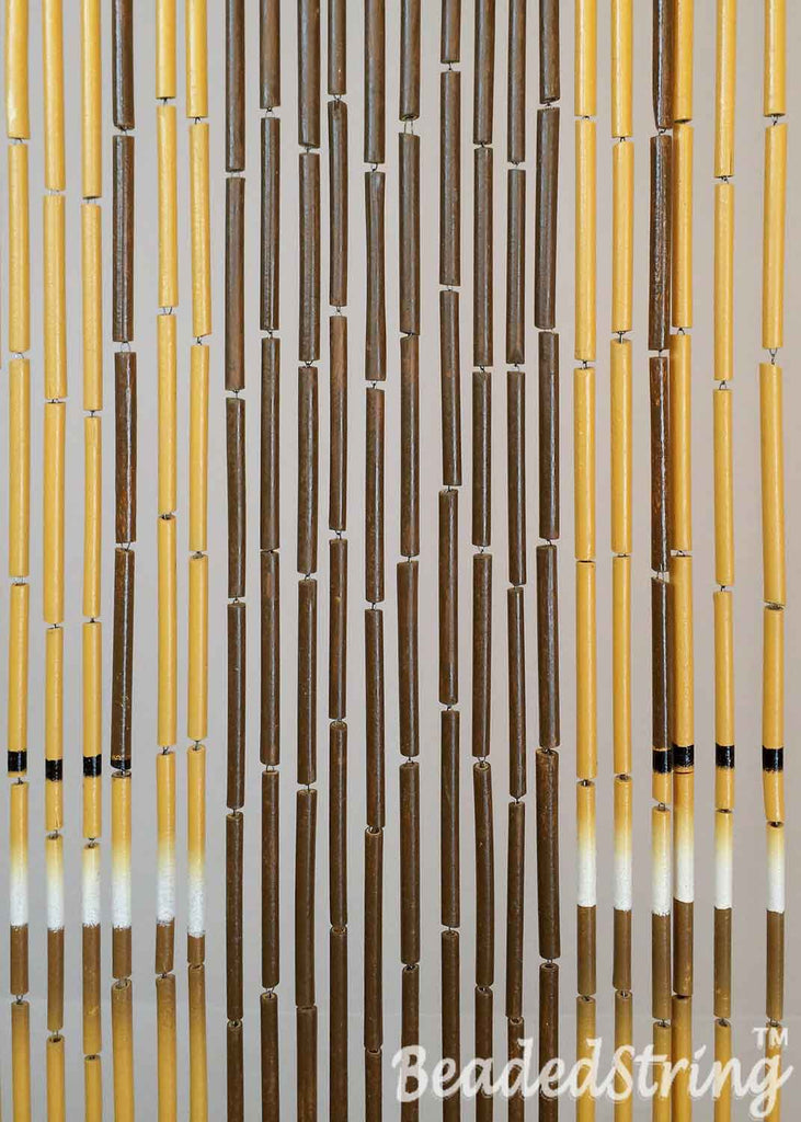 ... beaded curtain-bamboo-door2 ... & Beaded Curtain-Door Curtain-Bamboo-Door-90 Strands \u2013 BeadedString