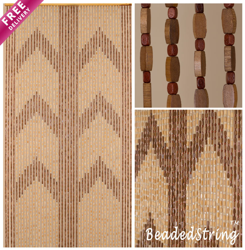 beaded curtain-wood-Bamboo-Panna-1