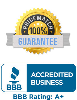 MFI Medical Price Match and BBB Rating Badges