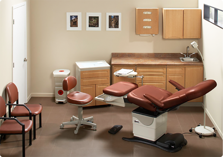 podiatry procedure room
