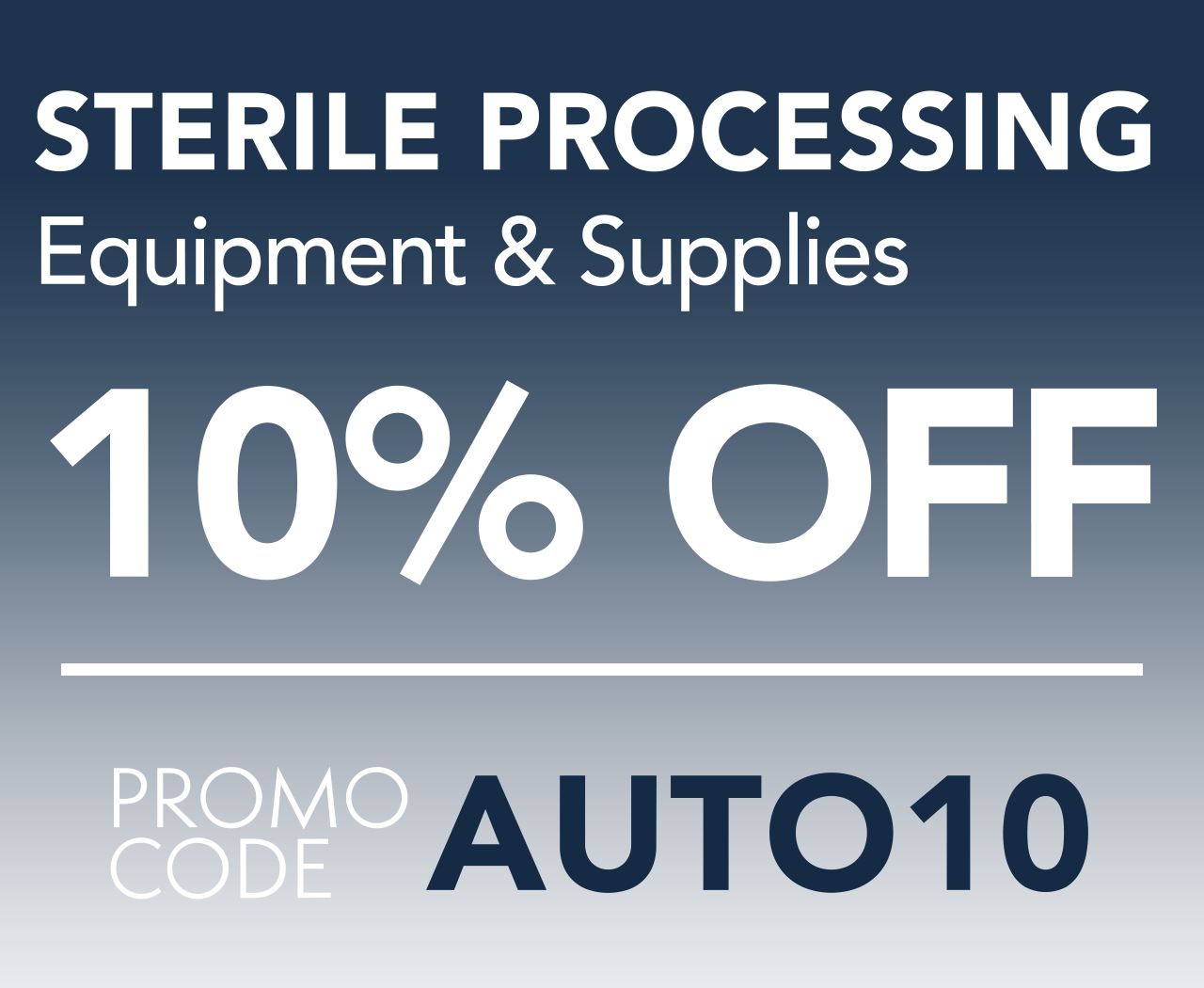 sterile processing on sale