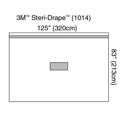 3M Steri-Drape Orthopedic Isolation Drape - #1014