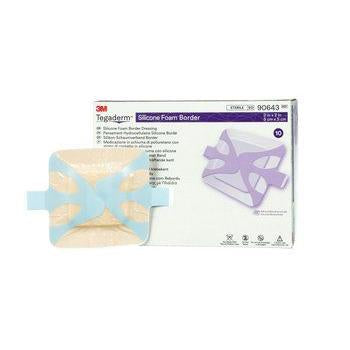 3M Tegaderm Silicone Bordered Foam Dressing