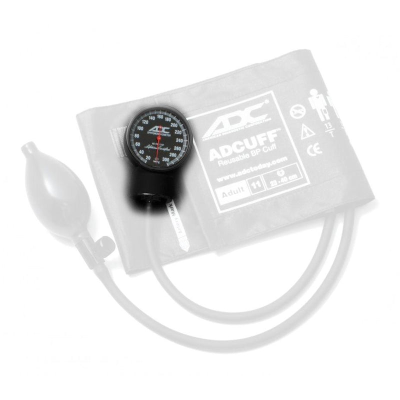 ADC 802ST Tactical Gauge for Diagnostix 720 Pocket Aneroid Sphygmomanometer - With Cuff and Bulb