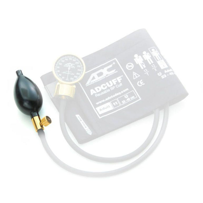 ADC 872N Adflow Inflation Bulb and Valve - Gold Plated