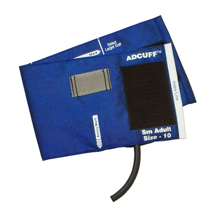 ADC Adcuff Cuff and Bladder with One Tube and Female Luer Connector - Small Adult - Royal Blue