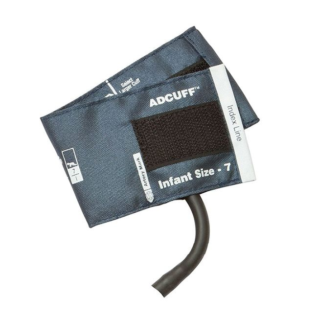 ADC Adcuff Cuff and Bladder with One Tube - Infant - Navy