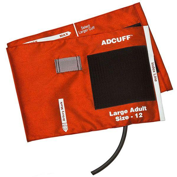 ADC Adcuff Cuff and Bladder with One Tube - Large Adult - Orange