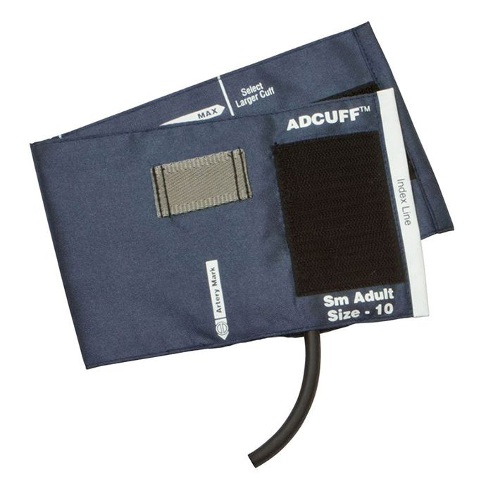 ADC Adcuff Cuff and Bladder with One Tube - Small Adult - Navy