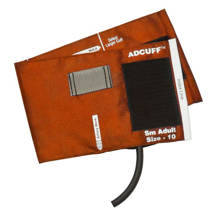 ADC Adcuff Cuff and Bladder with One Tube - Small Adult - Orange
