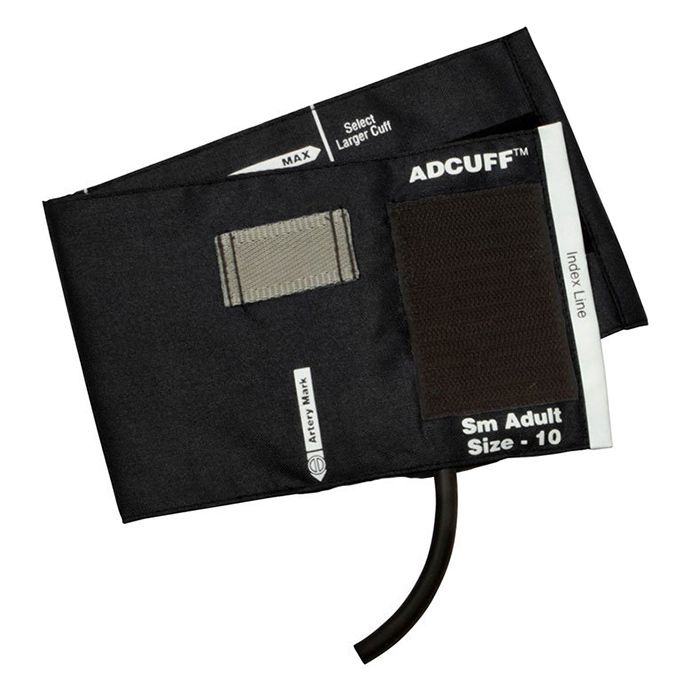 ADC Adcuff Cuff and Bladder with One Tube - Small Adult - Black