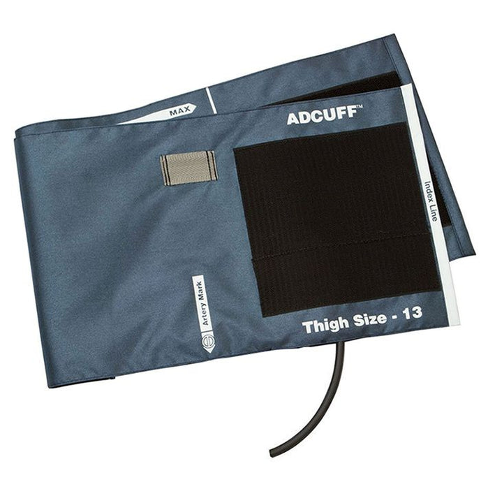 ADC Adcuff Cuff and Bladder with One Tube - Thigh - Navy