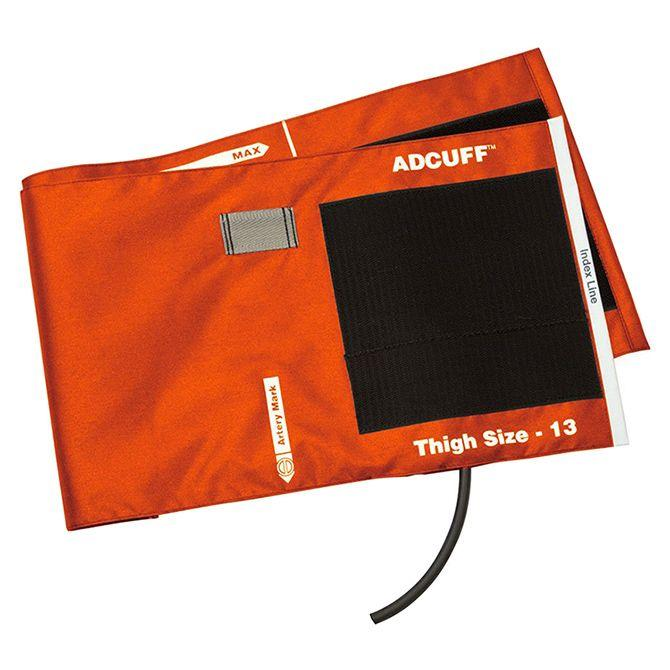 ADC Adcuff Cuff and Bladder with One Tube - Thigh - Orange