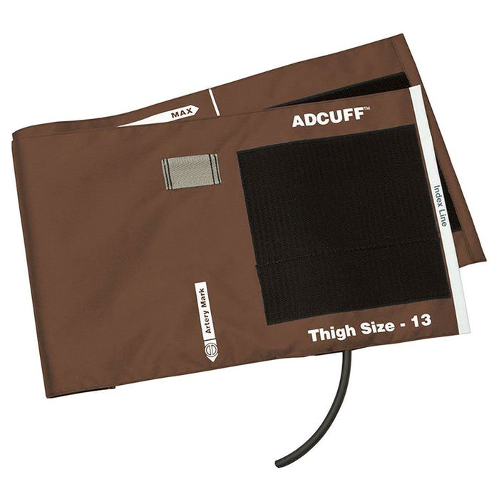 ADC Adcuff Cuff and Bladder with One Tube - Thigh - Brown