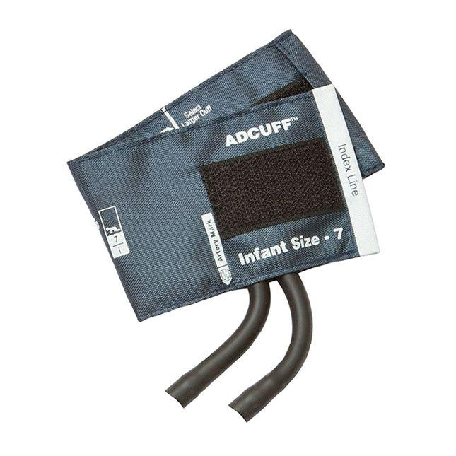 ADC Adcuff Cuff and Bladder with Two Tubes - Infant - Navy