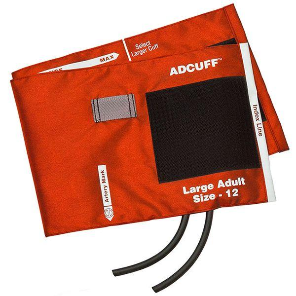 ADC Adcuff Cuff and Bladder with Two Tubes - Large Adult - Orange