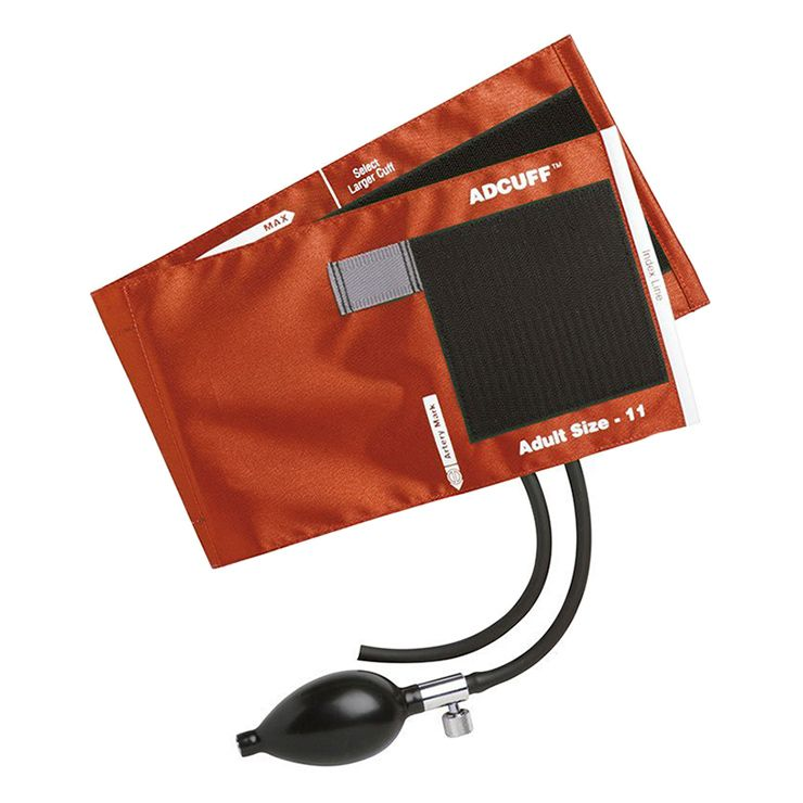 ADC Adcuff Sphygmomanometer Inflation System - Adult - Orange