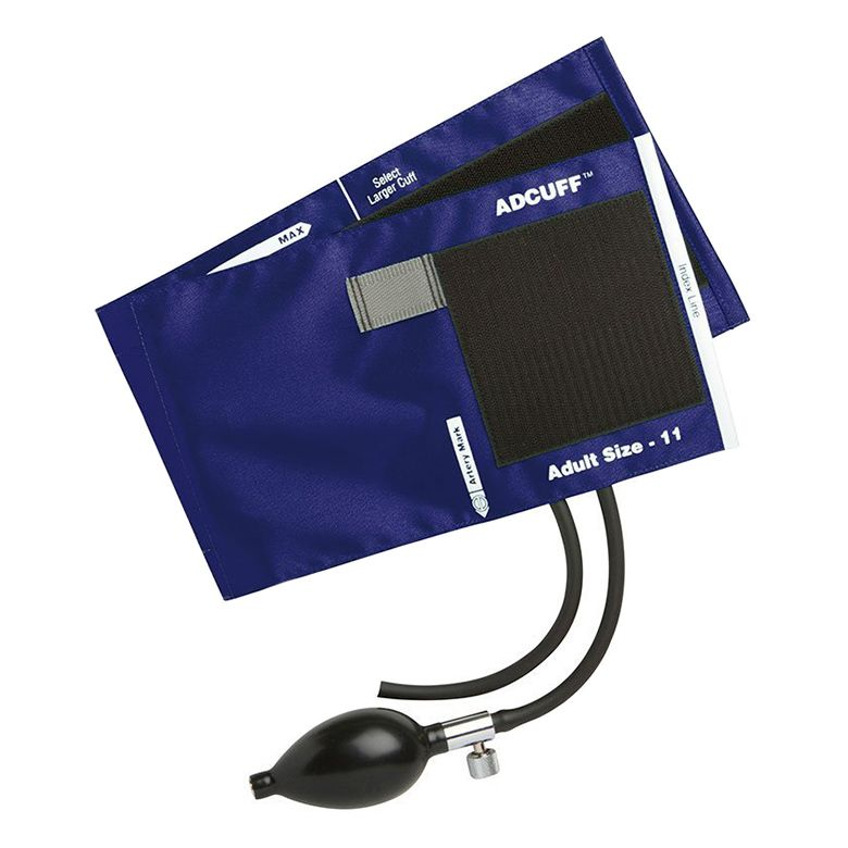 ADC Adcuff Sphygmomanometer Inflation System - Adult - Royal Blue