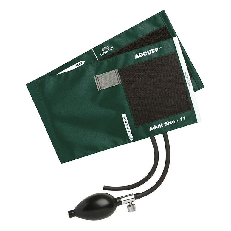 ADC Adcuff Sphygmomanometer Inflation System - Adult - Dark Green